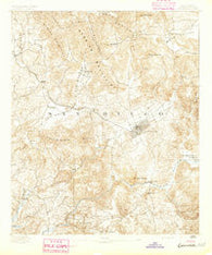 Escondido California Historical topographic map, 1:62500 scale, 15 X 15 Minute, Year 1893
