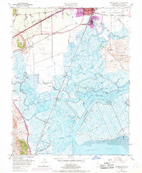 Fairfield South California Historical topographic map, 1:24000 scale, 7.5 X 7.5 Minute, Year 1949