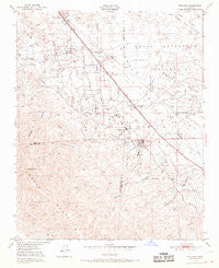 Fellows California Historical topographic map, 1:24000 scale, 7.5 X 7.5 Minute, Year 1950