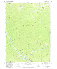 Forks of Salmon California Historical topographic map, 1:24000 scale, 7.5 X 7.5 Minute, Year 1978