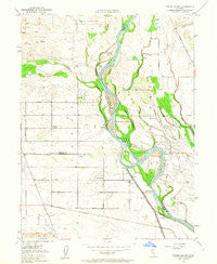 Foster Island California Historical topographic map, 1:24000 scale, 7.5 X 7.5 Minute, Year 1950