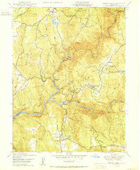 French Corral California Historical topographic map, 1:24000 scale, 7.5 X 7.5 Minute, Year 1950