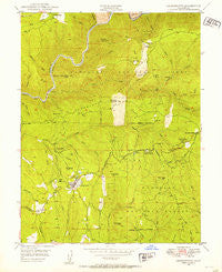 Georgetown California Historical topographic map, 1:24000 scale, 7.5 X 7.5 Minute, Year 1949