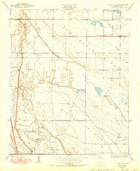 Goose Lake California Historical topographic map, 1:24000 scale, 7.5 X 7.5 Minute, Year 1950