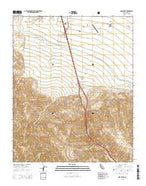 Grapevine California Current topographic map, 1:24000 scale, 7.5 X 7.5 Minute, Year 2015 from California Map Store