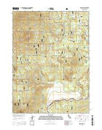 Grass Lake California Current topographic map, 1:24000 scale, 7.5 X 7.5 Minute, Year 2015 from California Map Store