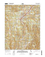 Grass Valley California Current topographic map, 1:24000 scale, 7.5 X 7.5 Minute, Year 2015 from California Map Store