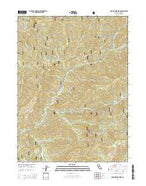 Grasshopper Ridge California Current topographic map, 1:24000 scale, 7.5 X 7.5 Minute, Year 2015 from California Map Store