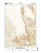 Grasshopper Valley California Current topographic map, 1:24000 scale, 7.5 X 7.5 Minute, Year 2015 from California Map Store