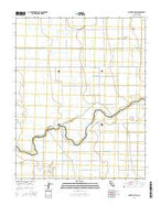 Gravelly Ford California Current topographic map, 1:24000 scale, 7.5 X 7.5 Minute, Year 2015 from California Map Store