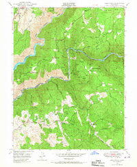 Greenwood California Historical topographic map, 1:24000 scale, 7.5 X 7.5 Minute, Year 1949