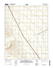 Guijarral Hills California Current topographic map, 1:24000 scale, 7.5 X 7.5 Minute, Year 2015 from California Maps Store