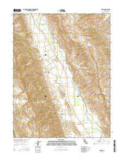 Guinda California Current topographic map, 1:24000 scale, 7.5 X 7.5 Minute, Year 2015 from California Maps Store