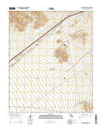 Halloran Springs California Current topographic map, 1:24000 scale, 7.5 X 7.5 Minute, Year 2015 from California Map Store