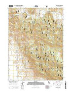 Halls Canyon California Current topographic map, 1:24000 scale, 7.5 X 7.5 Minute, Year 2015 from California Map Store