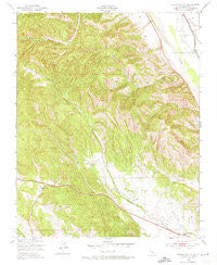 Hames Valley California Historical topographic map, 1:24000 scale, 7.5 X 7.5 Minute, Year 1949