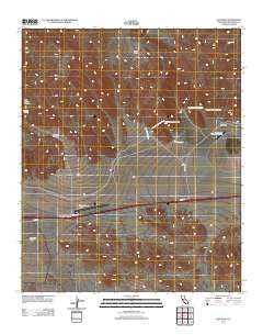 Hayfield California Historical topographic map, 1:24000 scale, 7.5 X 7.5 Minute, Year 2012