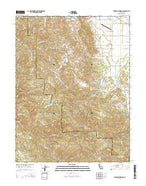 Highland Springs California Current topographic map, 1:24000 scale, 7.5 X 7.5 Minute, Year 2015 from California Map Store
