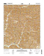 Hildreth Peak California Current topographic map, 1:24000 scale, 7.5 X 7.5 Minute, Year 2015 from California Map Store
