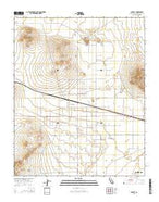 Hinkley California Current topographic map, 1:24000 scale, 7.5 X 7.5 Minute, Year 2015 from California Map Store