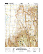 Hog Valley California Current topographic map, 1:24000 scale, 7.5 X 7.5 Minute, Year 2015 from California Map Store