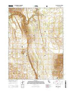 Hogback Ridge California Current topographic map, 1:24000 scale, 7.5 X 7.5 Minute, Year 2015 from California Map Store