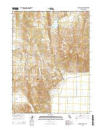 Holbrook Canyon California Current topographic map, 1:24000 scale, 7.5 X 7.5 Minute, Year 2015 from California Map Store