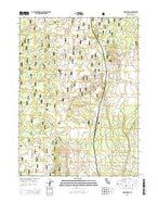 Hollenbeck California Current topographic map, 1:24000 scale, 7.5 X 7.5 Minute, Year 2015 from California Map Store