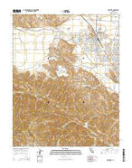 Hollister California Current topographic map, 1:24000 scale, 7.5 X 7.5 Minute, Year 2015 from California Map Store