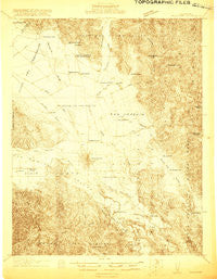 Hollister California Historical topographic map, 1:48000 scale, 15 X 15 Minute, Year 1919