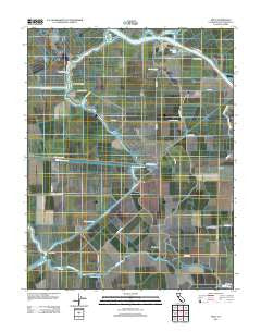 Holt California Historical topographic map, 1:24000 scale, 7.5 X 7.5 Minute, Year 2012