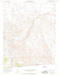 In-ko-pah Gorge California Historical topographic map, 1:24000 scale, 7.5 X 7.5 Minute, Year 1959