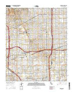 Inglewood California Current topographic map, 1:24000 scale, 7.5 X 7.5 Minute, Year 2015 from California Map Store
