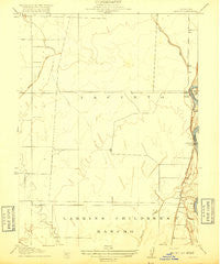 Jacinto California Historical topographic map, 1:31680 scale, 7.5 X 7.5 Minute, Year 1917