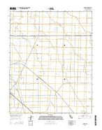 Jamesan California Current topographic map, 1:24000 scale, 7.5 X 7.5 Minute, Year 2015 from California Map Store