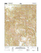 Jamison Ridge California Current topographic map, 1:24000 scale, 7.5 X 7.5 Minute, Year 2015 from California Map Store