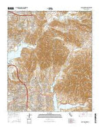 Jamul Mountains California Current topographic map, 1:24000 scale, 7.5 X 7.5 Minute, Year 2015 from California Map Store