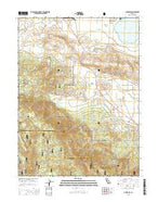 Janesville California Current topographic map, 1:24000 scale, 7.5 X 7.5 Minute, Year 2015 from California Map Store