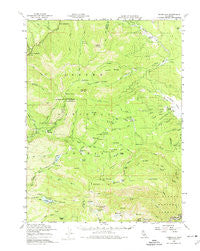 Jonesville California Historical topographic map, 1:62500 scale, 15 X 15 Minute, Year 1958