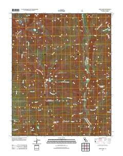Kern Lake California Historical topographic map, 1:24000 scale, 7.5 X 7.5 Minute, Year 2012