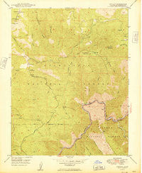 Kinsley California Historical topographic map, 1:24000 scale, 7.5 X 7.5 Minute, Year 1949
