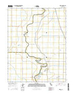 Kirkville California Current topographic map, 1:24000 scale, 7.5 X 7.5 Minute, Year 2015 from California Map Store