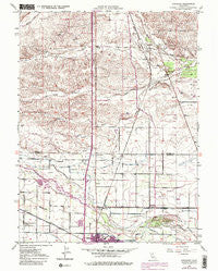 Kirkwood California Historical topographic map, 1:24000 scale, 7.5 X 7.5 Minute, Year 1949