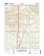 Kirkwood California Current topographic map, 1:24000 scale, 7.5 X 7.5 Minute, Year 2015 from California Map Store