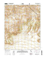 Kirkwood Spring California Current topographic map, 1:24000 scale, 7.5 X 7.5 Minute, Year 2015 from California Map Store