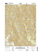Klamath Glen California Current topographic map, 1:24000 scale, 7.5 X 7.5 Minute, Year 2015 from California Map Store