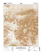 Klinker Mountain California Current topographic map, 1:24000 scale, 7.5 X 7.5 Minute, Year 2015 from California Map Store