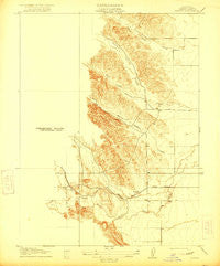 Kurand California Historical topographic map, 1:31680 scale, 7.5 X 7.5 Minute, Year 1917