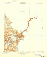 La Grange California Historical topographic map, 1:31680 scale, 7.5 X 7.5 Minute, Year 1919