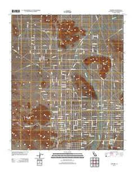 Landers California Historical topographic map, 1:24000 scale, 7.5 X 7.5 Minute, Year 2012